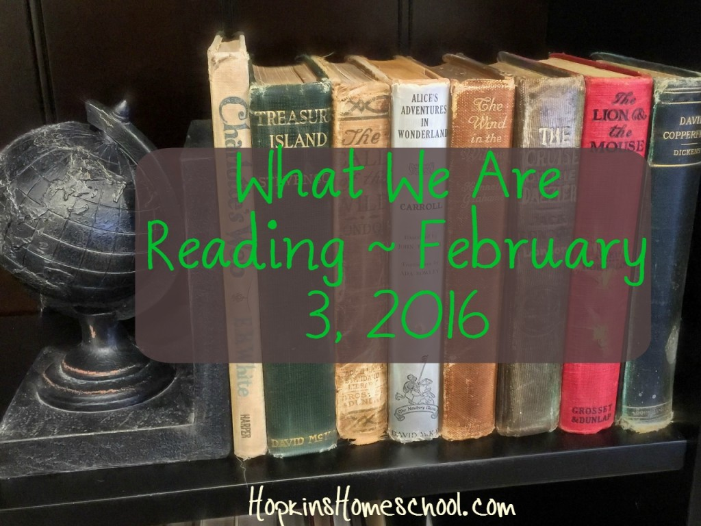 What We Are Reading Wednesday ~ February 3, 2016