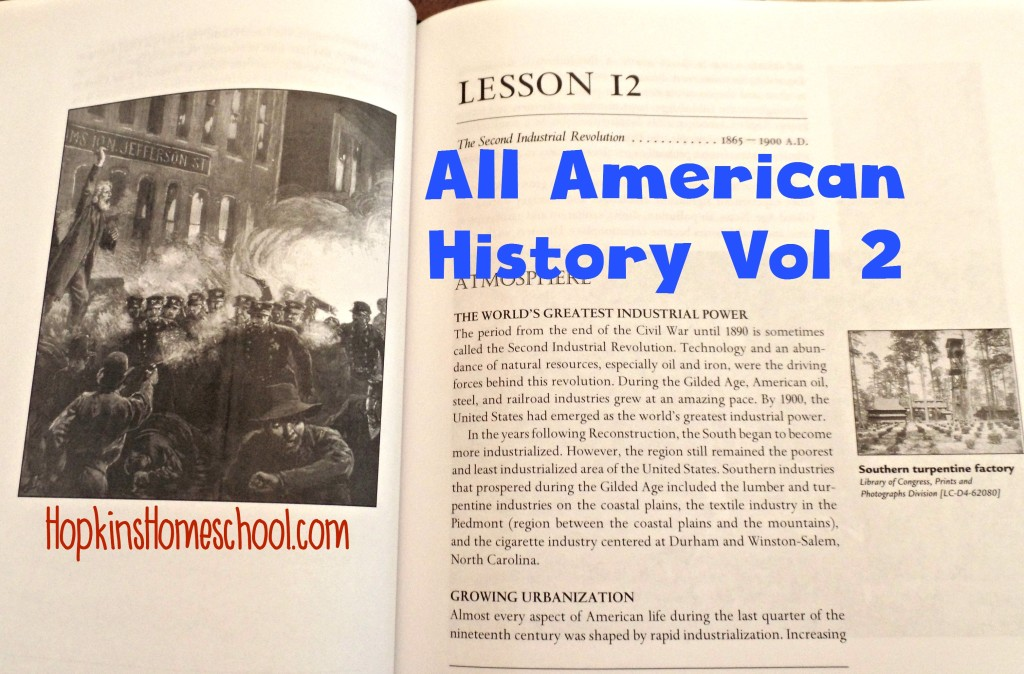 All American History Vol 2 Unit 2