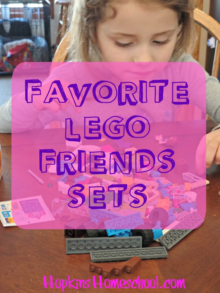 5 Favorite LEGO Friends Kits