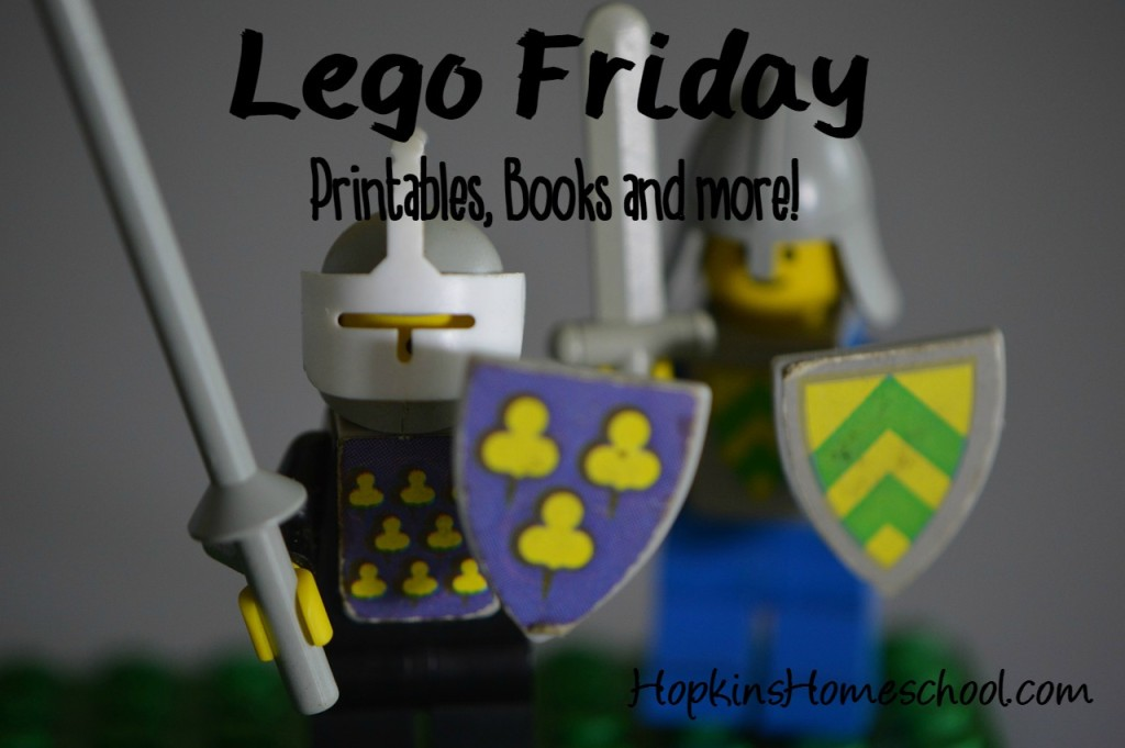 Lego Friday, Printables, Books and More!