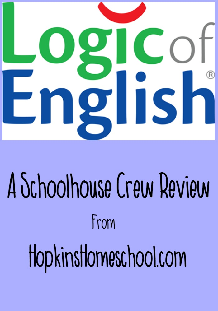 Logic of English ~ A Schoolhouse Crew Review