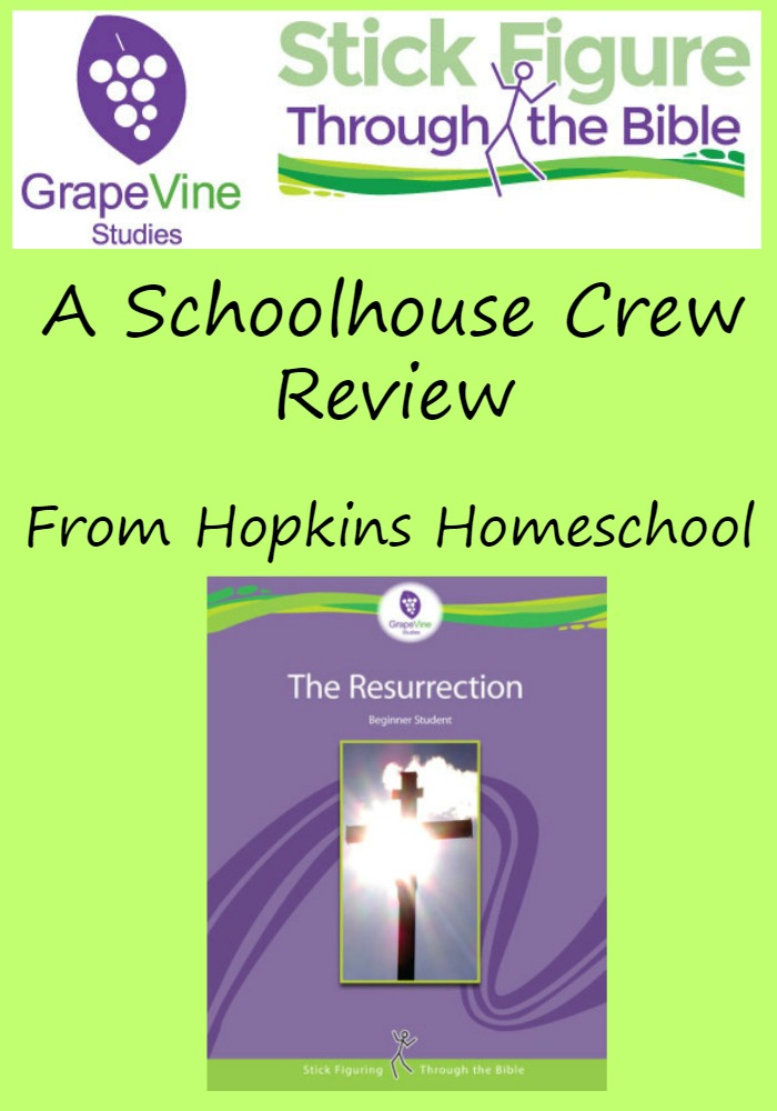 Grapevine Studies Resurrection Bible Study ~ A Schoolhouse Crew Review