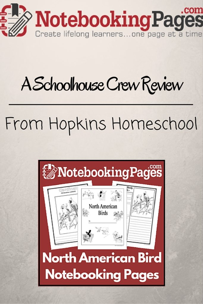 NotebookingPages.com ~ A Schoolhouse Crew Review