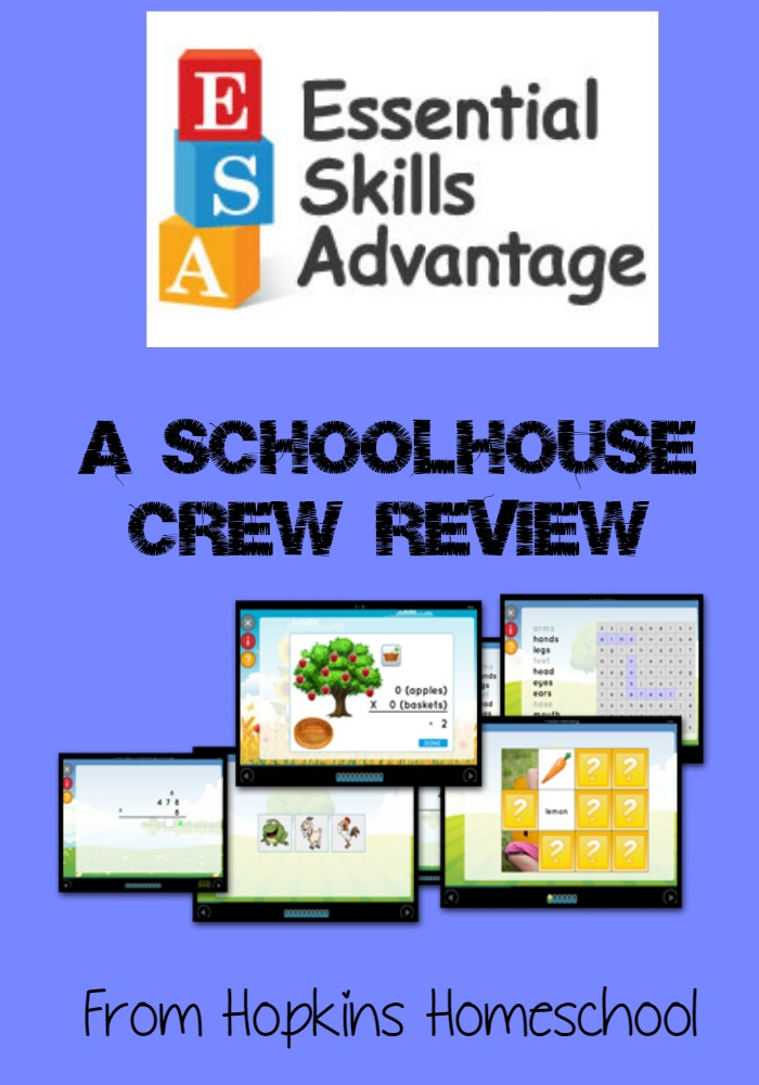 Essential Skills Advantage ~ A Schoolhouse Crew Review