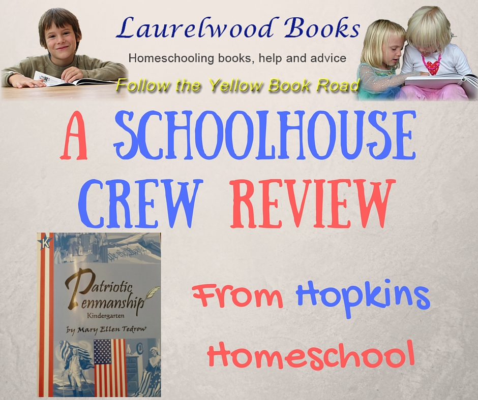 Laurelwood Books: Patriotic Penmanship ~ A Schoolhouse Crew Review