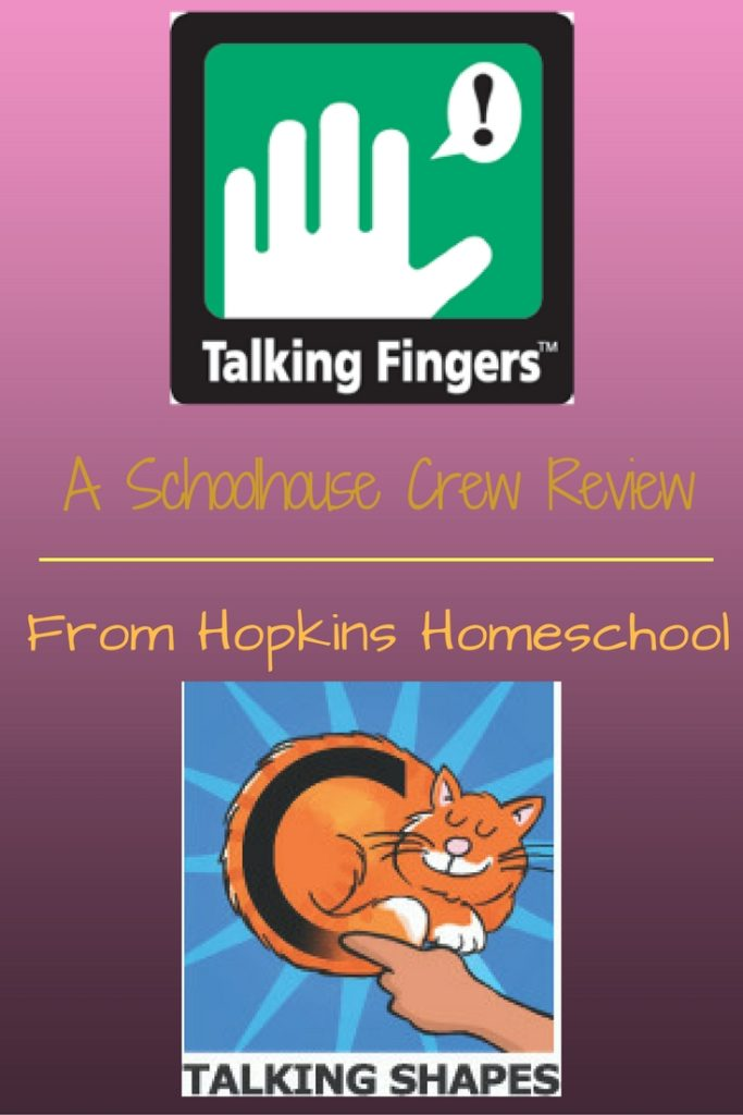 Talking Shapes ~ A Schoolhouse Crew Review