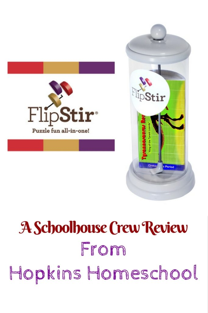FlipStir Puzzle from Enlivenze LLC ~ A Schoolhouse Crew Review