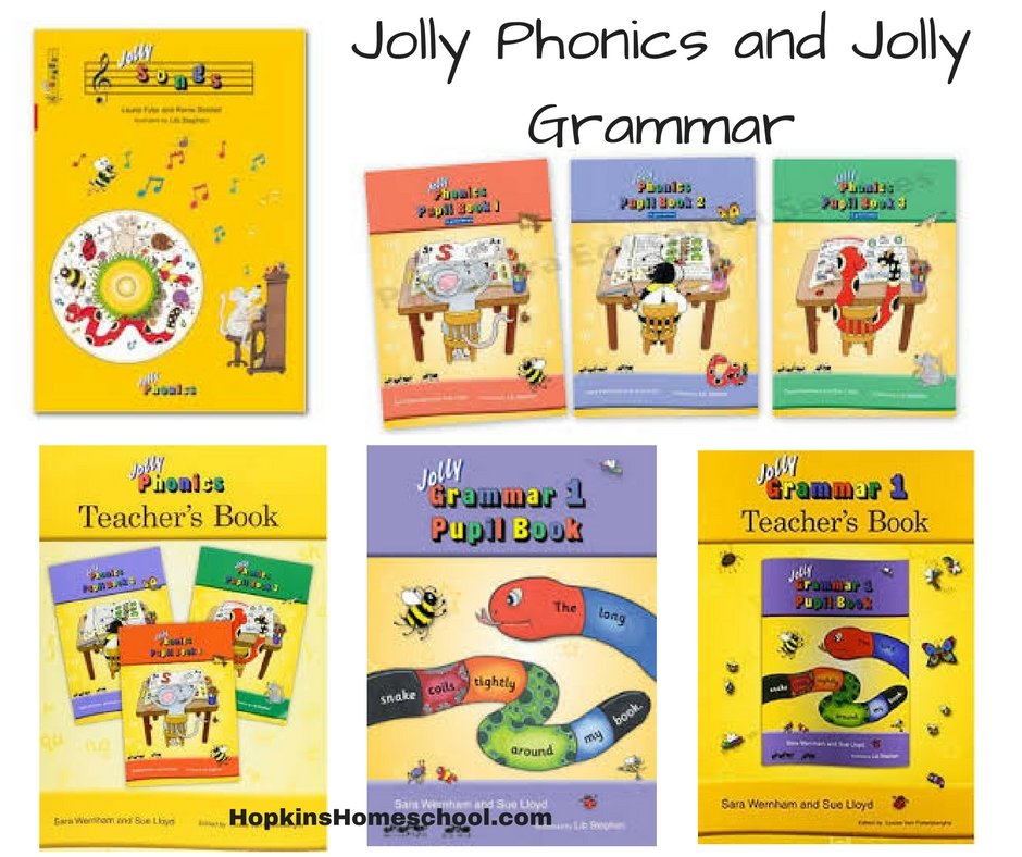 Jolly Phonics ~ A Schoolhouse Crew Review