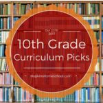 10th Grade Curriculum Choices for 2016-2017