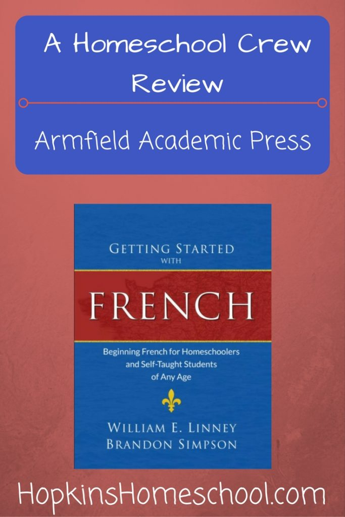 Getting Started With French ~ A Homeschool Crew Review