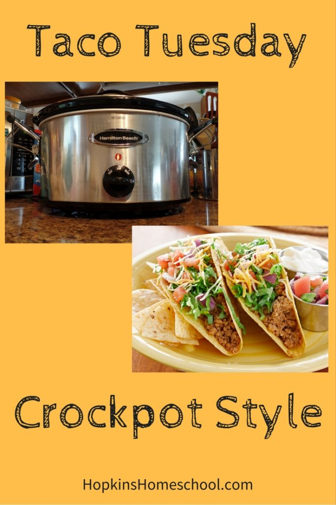 Taco Tuesday – Crockpot Style