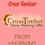 CrossTimber Personalized Name Meaning ~ A Homeschool Review Crew Review