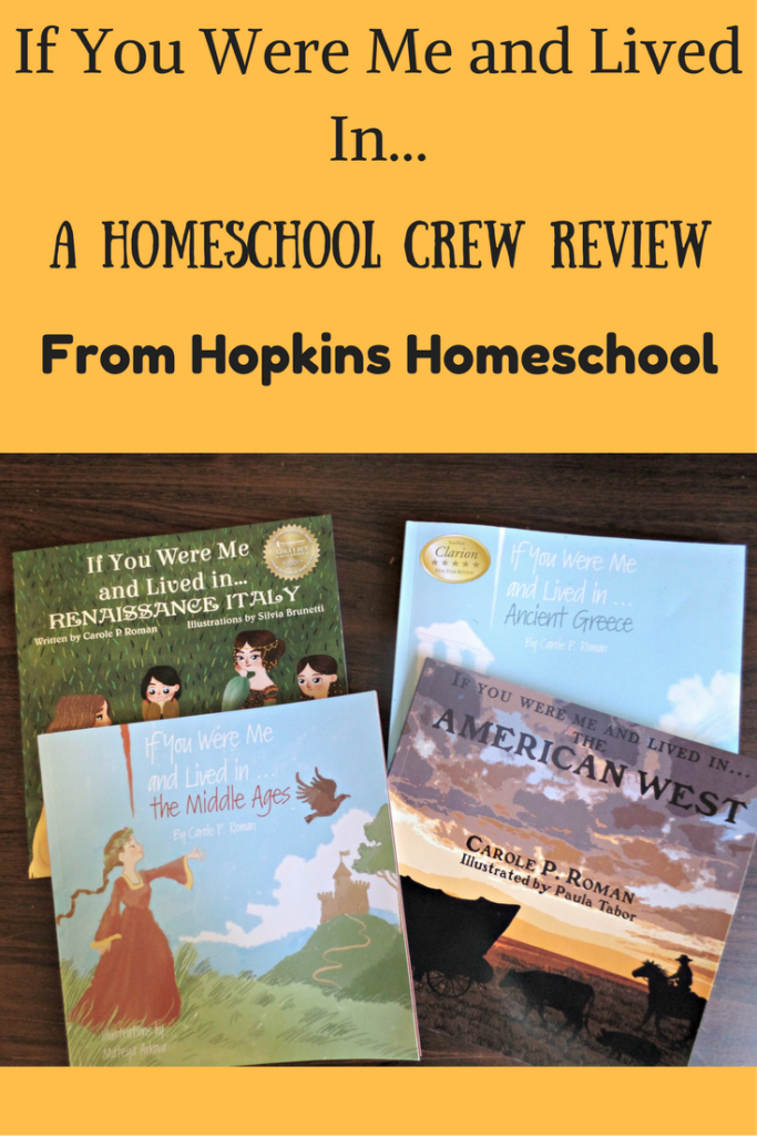 If You Were Me and Lived In…Books by Carole P. Roman ~ A Homeschool Crew Review