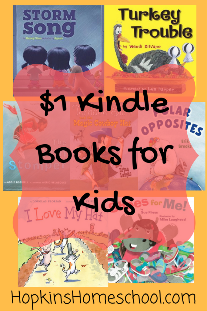 $1 Kindle Books for Kids