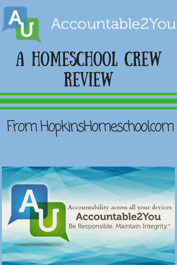 Internet Monitoring with Accountable2You ~ A Homeschool Crew Review