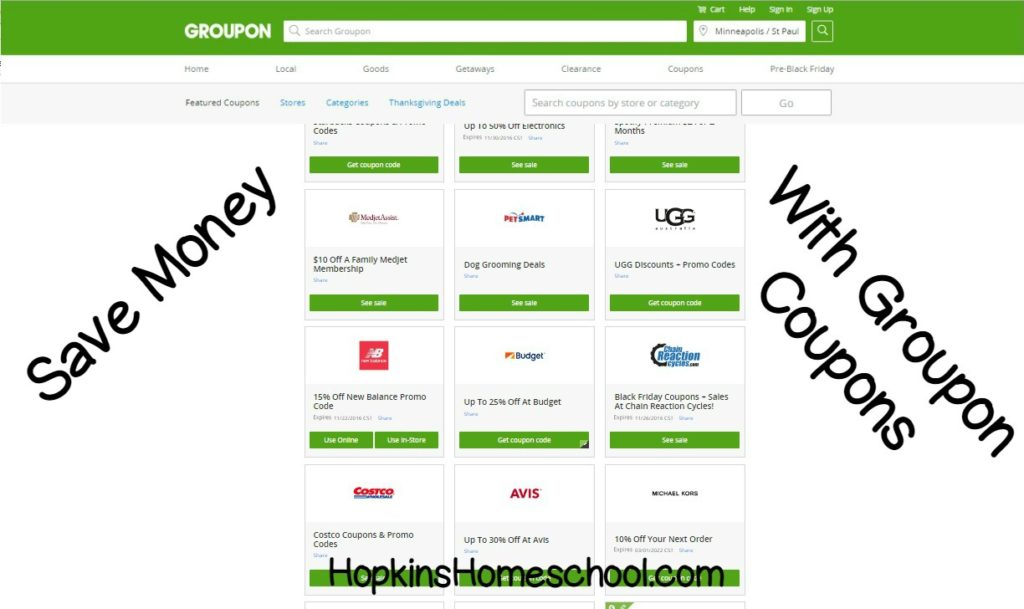 Save Money On Groupon With Coupons