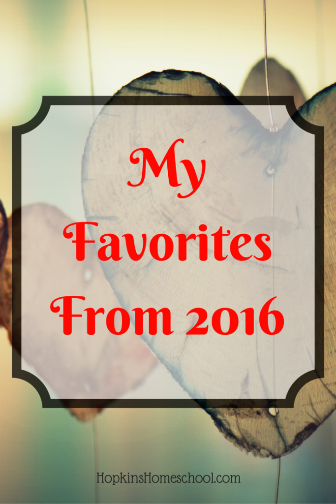Friday Favorites From 2016