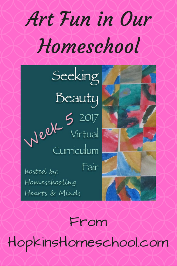 Art Fun In Our Homeschool ~ 2017 Virtual Curriculum Fair