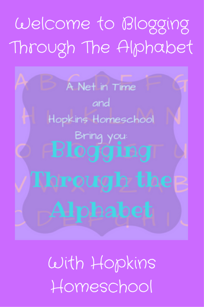Welcome to Blogging Through The Alphabet!