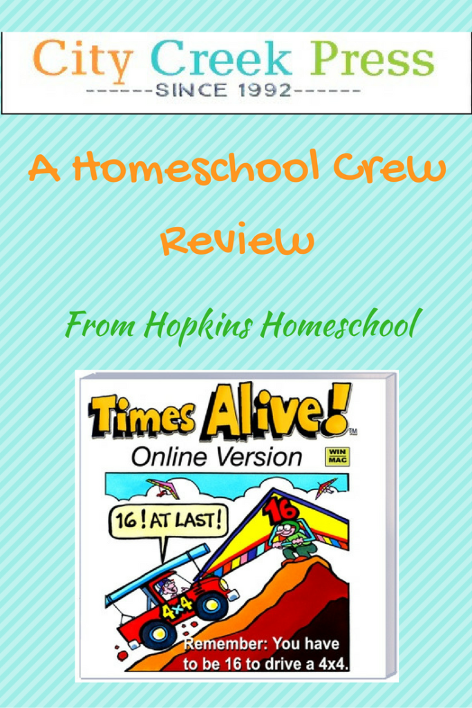 Times Alive ~ A Homeschool Crew Review
