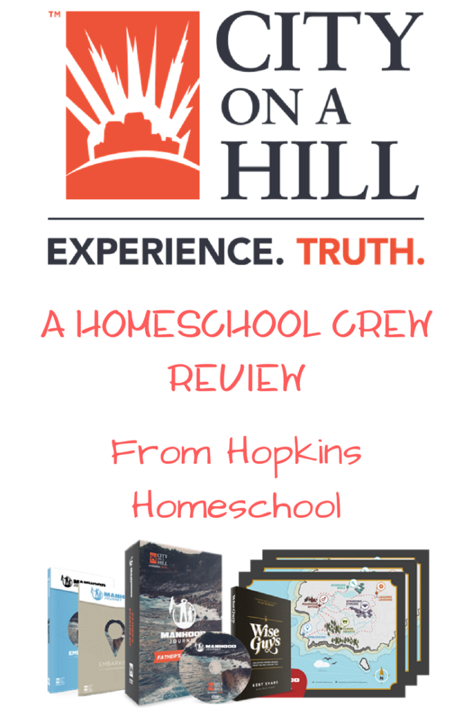 Manhood Journey Bible Study ~ A Homeschool Crew Review