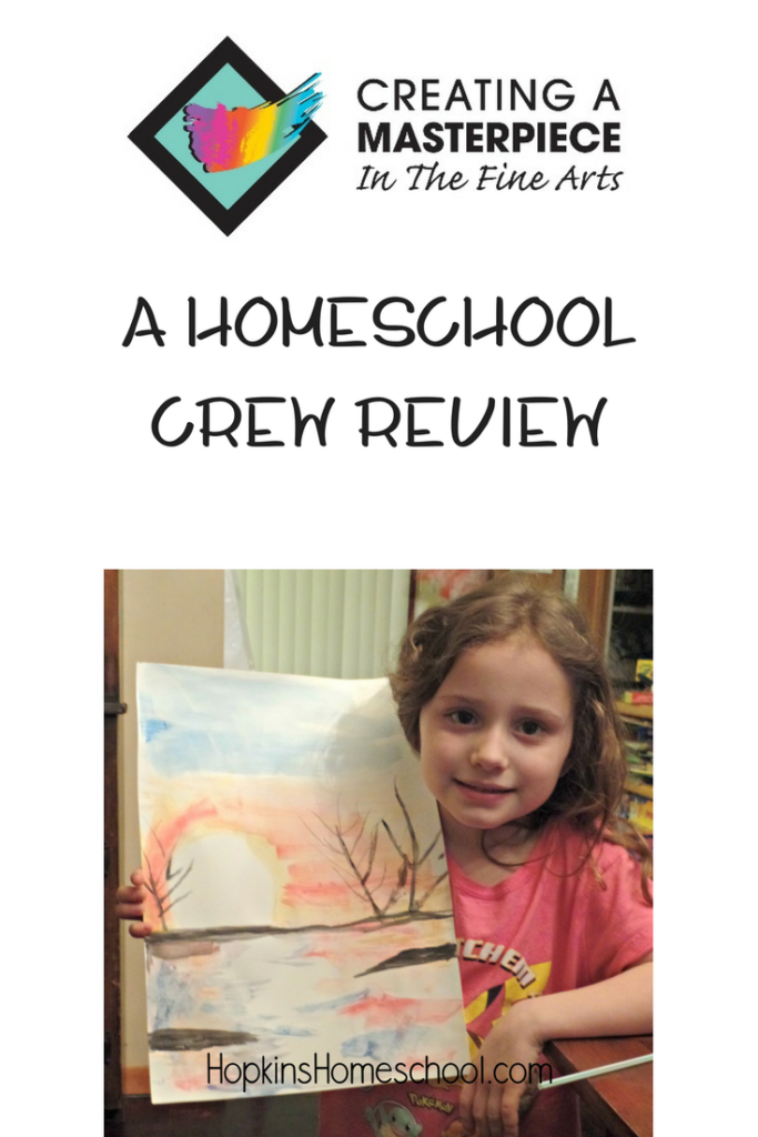 Creating a Masterpiece ~ A Homeschool Crew Review