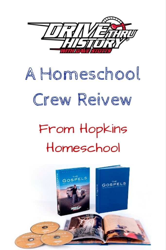 "Drive Thru History® – ""The Gospels"" ~ A Homeschool Crew Review"