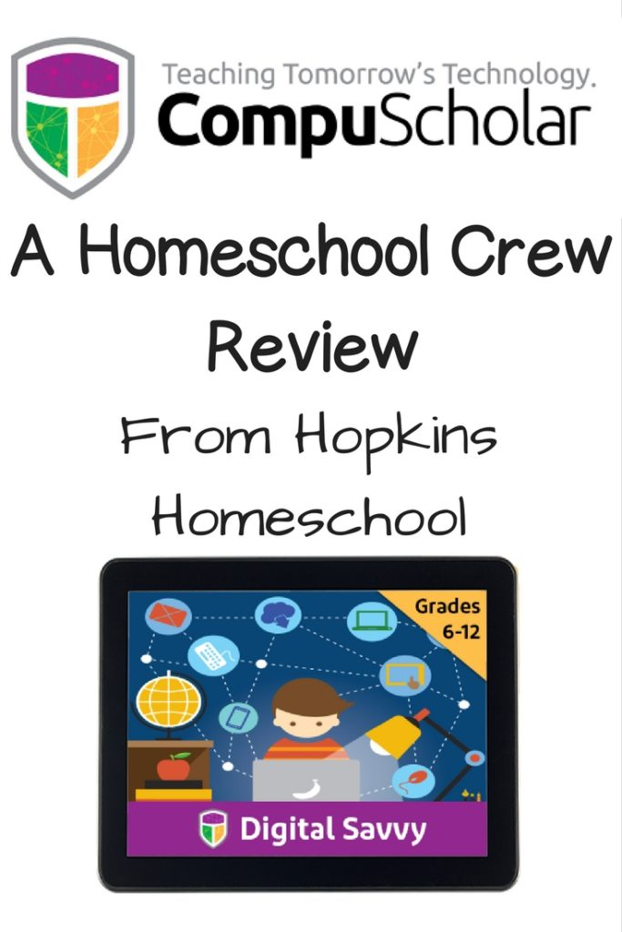 Digital Savvy From CompuScholar, INC. ~ A Homeschool Crew Review
