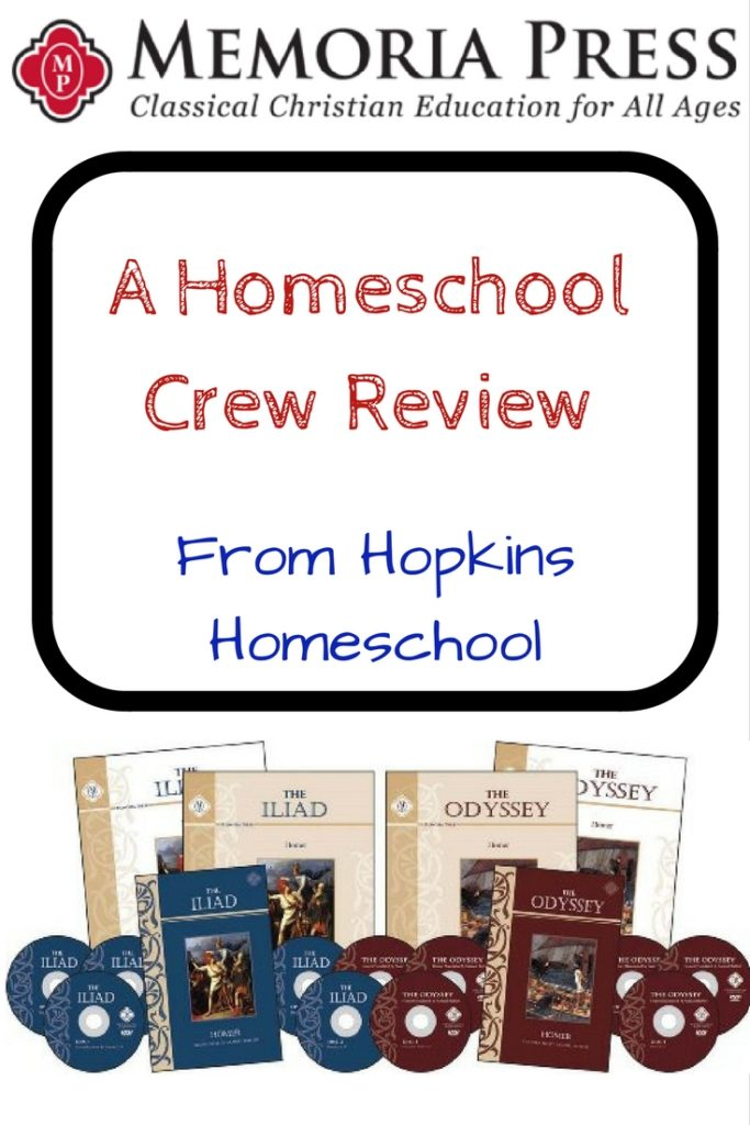 The Iliad and The Odyssey ~ A Homeschool Crew Review