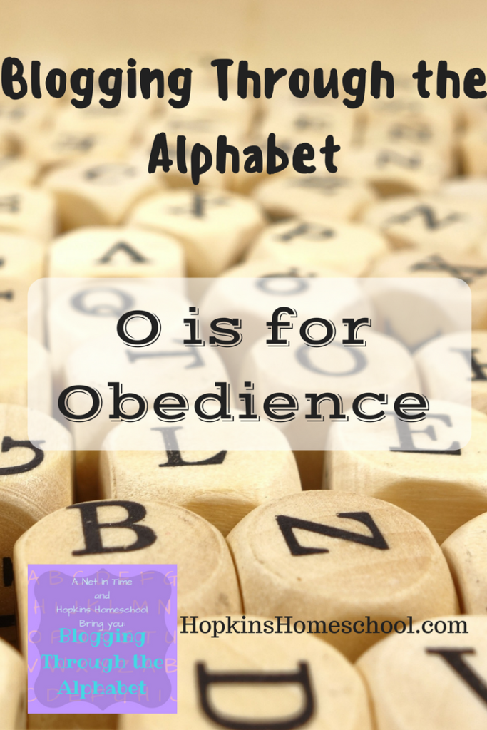 Blogging Through the Alphabet ~ O is for