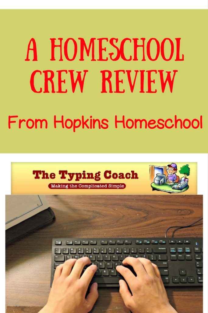 The Typing Coach ~ A Homeschool Crew Review