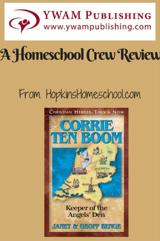 Christian Heroes- Corrie ten Boom ~ A Homeschool Crew Review