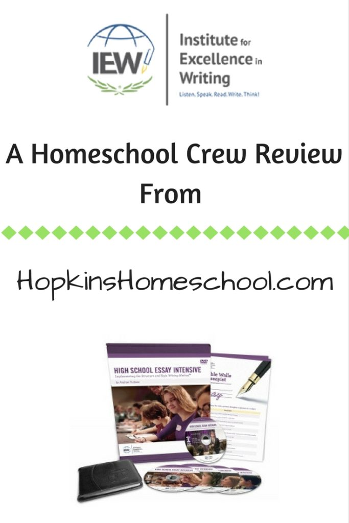 High School Essay Intensive ~ A Homeschool Crew Review