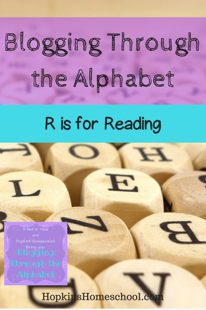 Reading and What We Are Reading Now ~ Blogging Through the Alphabet