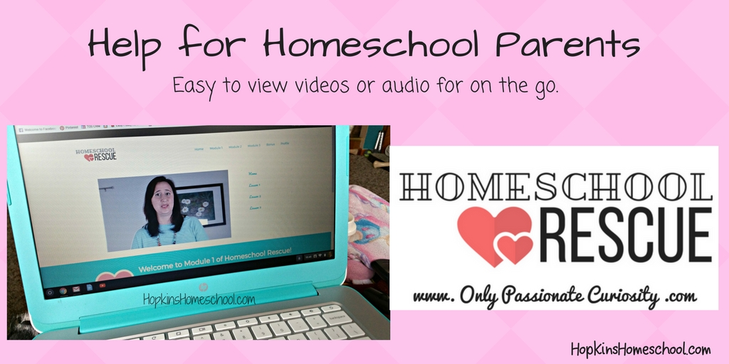 Help for Homeschool Parents