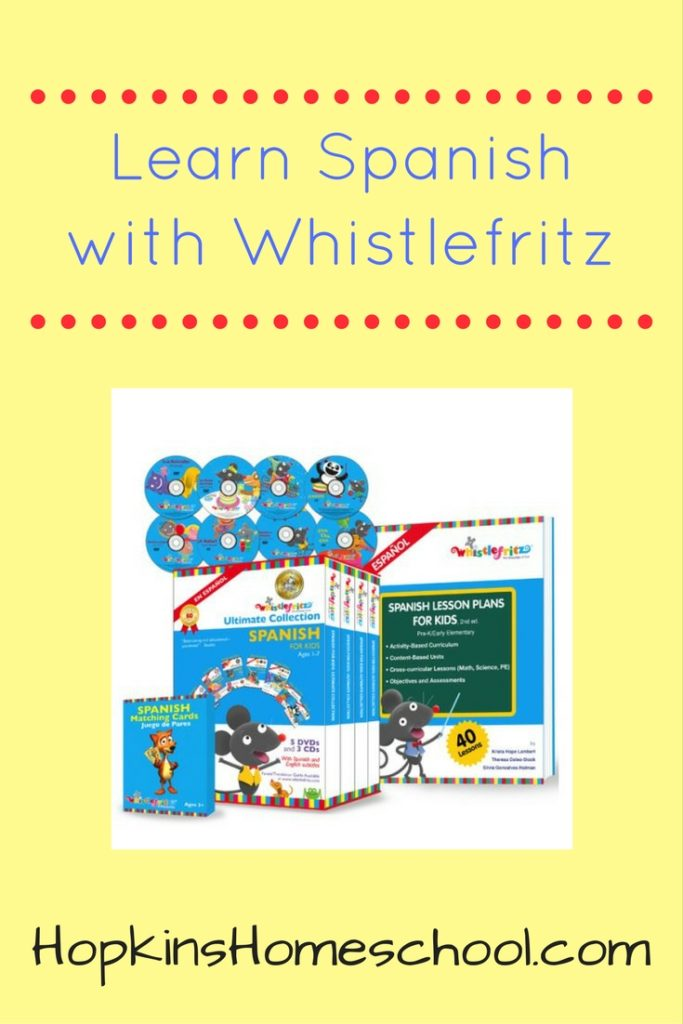 Learn Spanish with Whistlefritz – A Homeschool Crew Review
