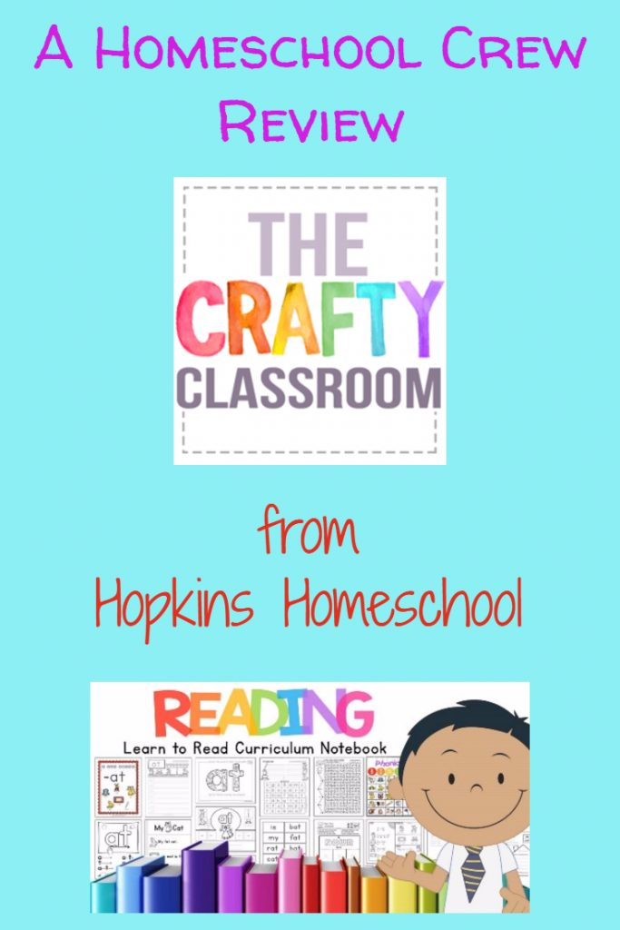 The Crafty Classroom – A Homeschool Crew Review