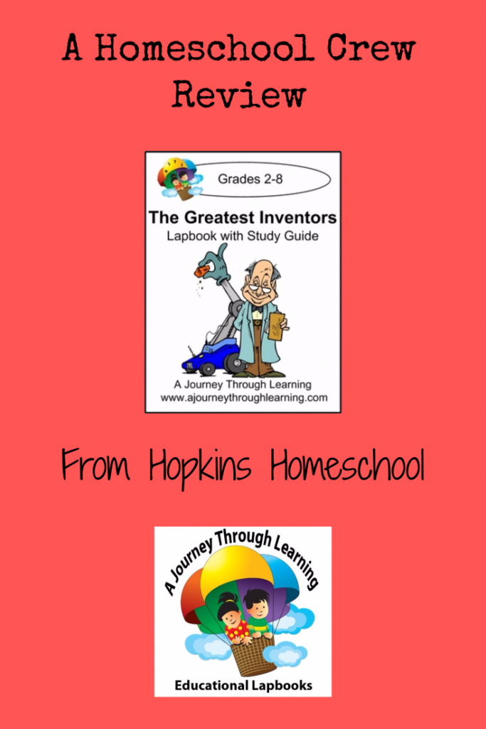 The Greatest Inventors – A Homeschool Crew Review