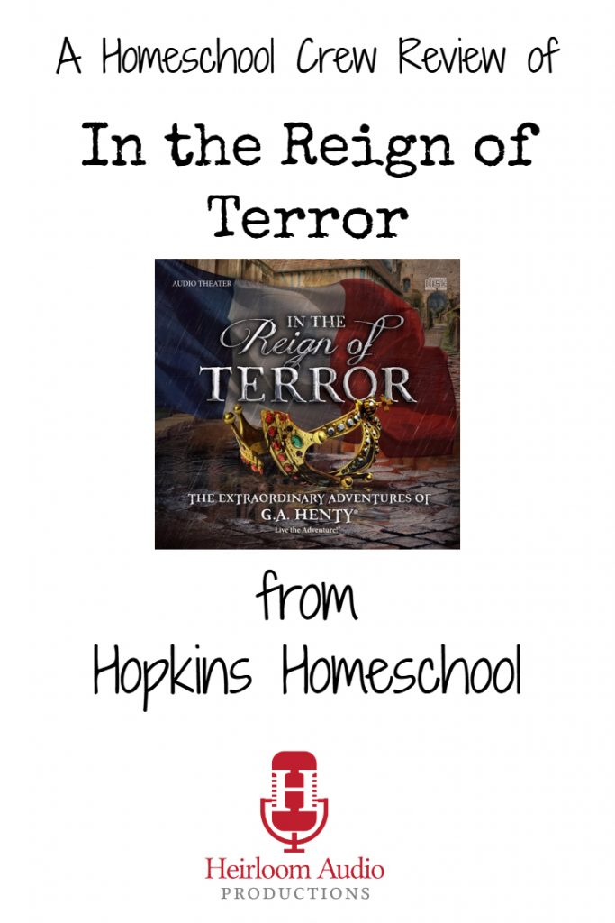 In the Reign of Terror – A Homeschool Crew Review