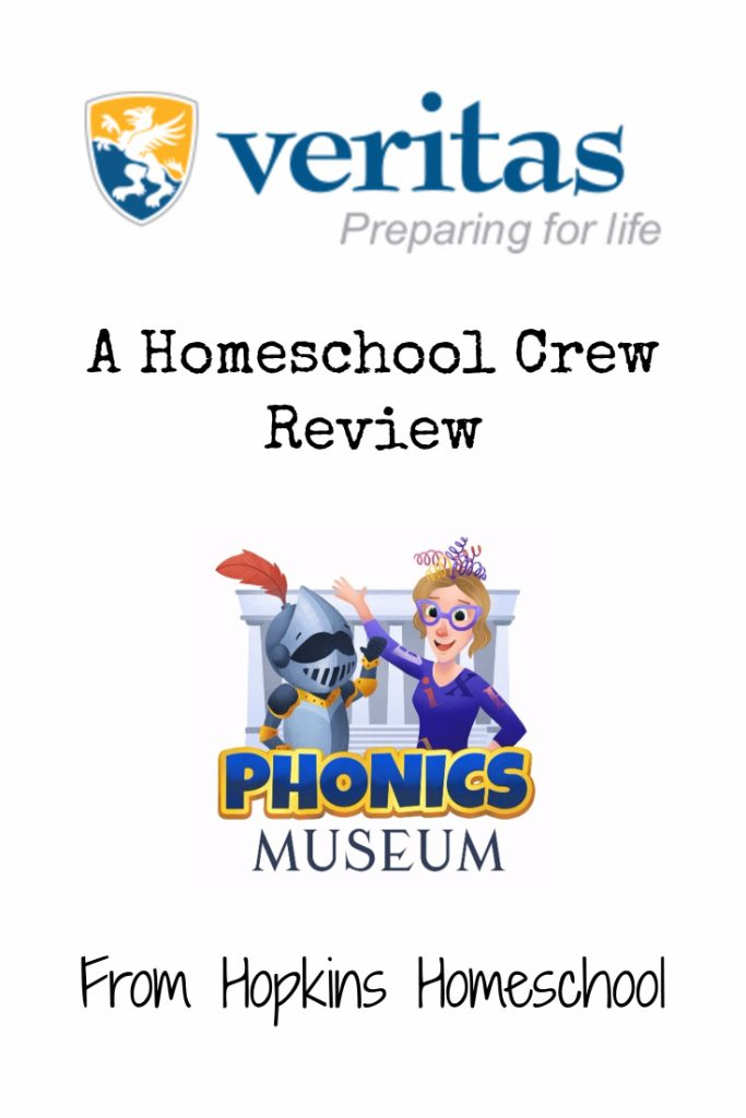 Phonics Museum from Veritas Press – A Homeschool Crew Review