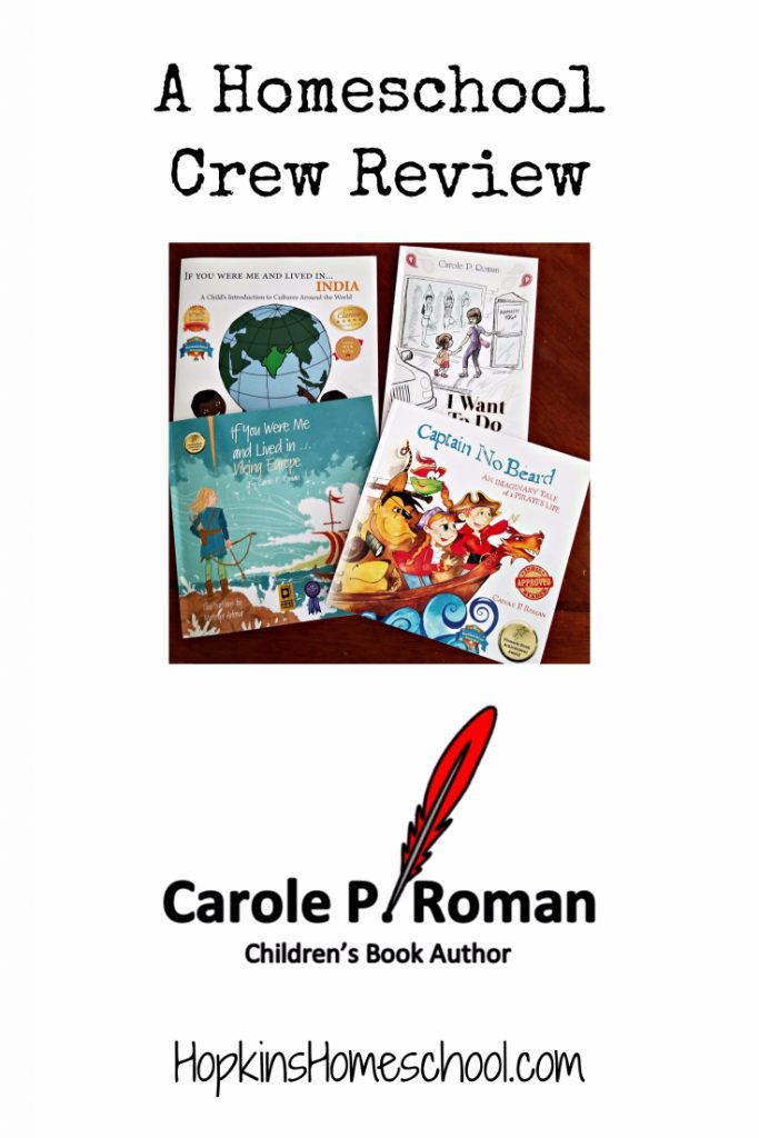 Children's History Books from Carole P. Roman – A Homeschool Crew Review