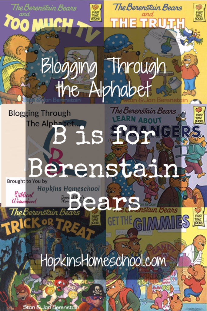B is for Berenstain Bears – Blogging Through the Alphabet