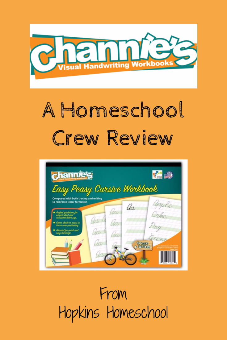 Easy Peasy Cursive Workbook - A Homeschool Crew Review - Hopkins ...