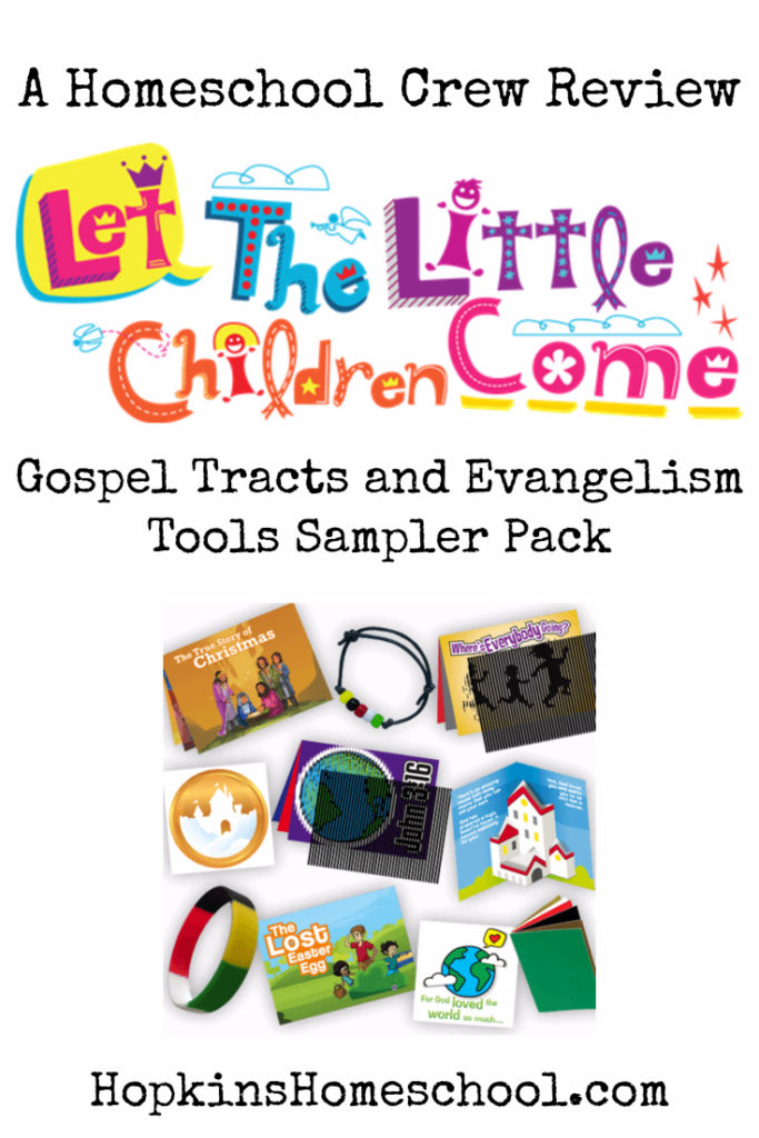 Gospel Tracts and Evangelism Tools Sampler Pack – A Homeschool Crew Review