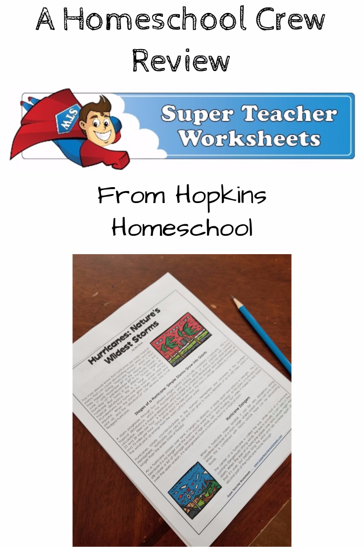 With an Inidual Membership from Super Teacher Worksheets you can find what you need to help your child expand and grow their learning!