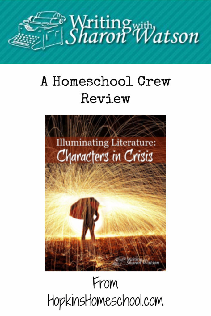 Illuminating Literature: Characters in Crisis – A Homeschool Crew Review