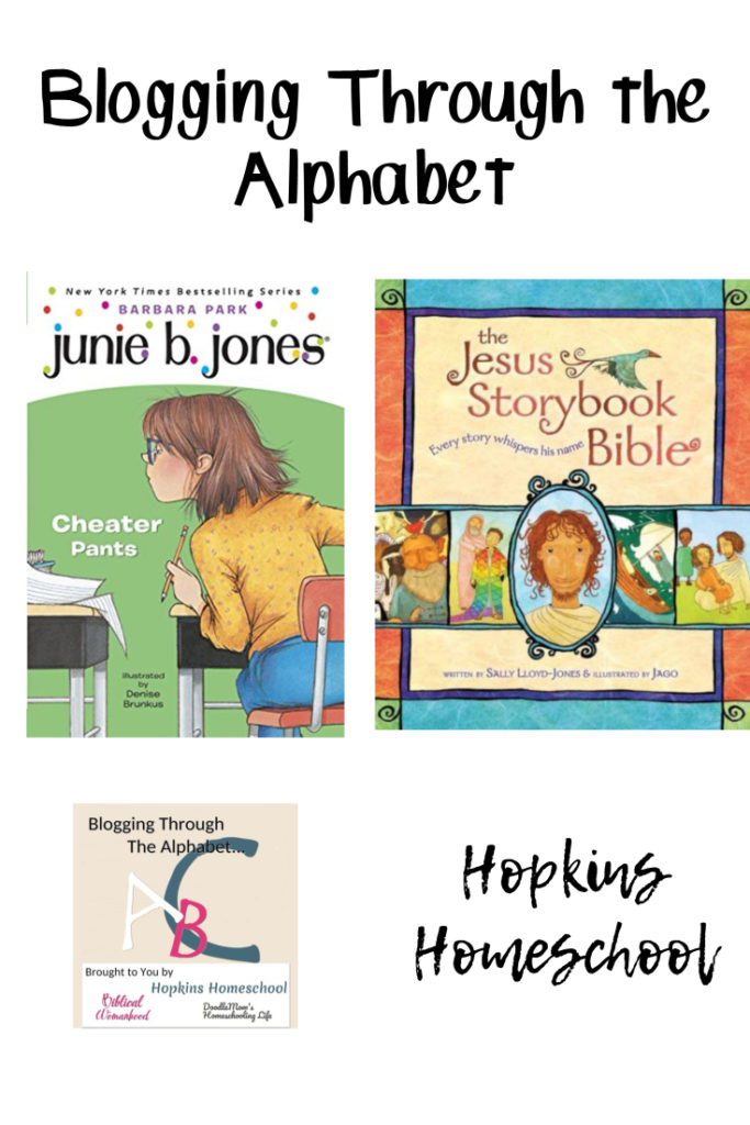 The Jesus Storybook Bible and Junie B. – Blogging Through the Alphabet