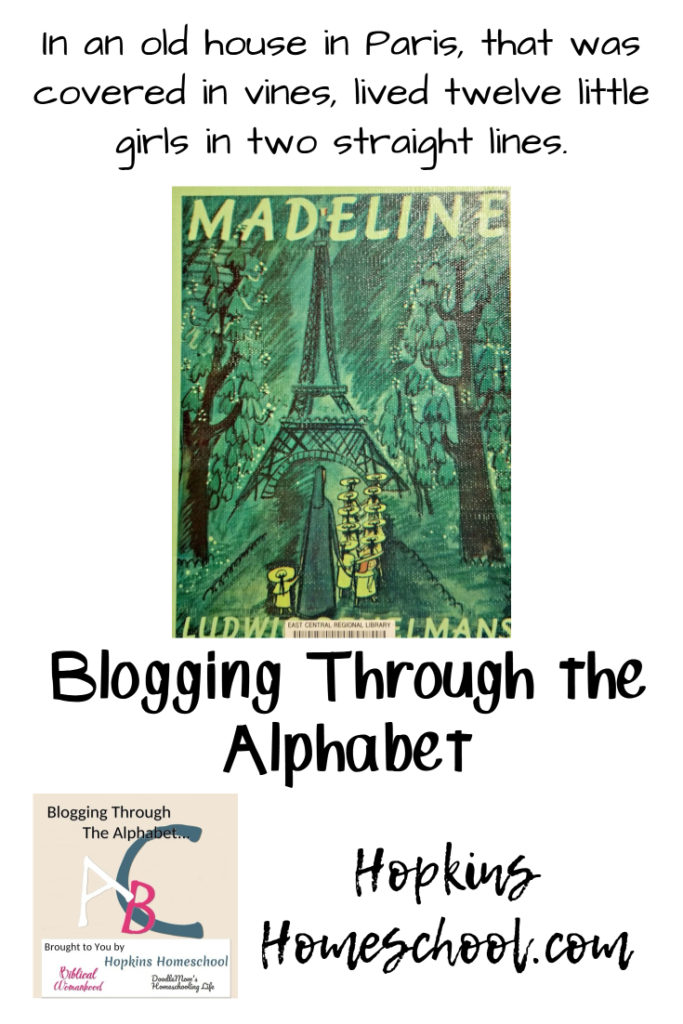 Madeline – Blogging Through the Alphabet
