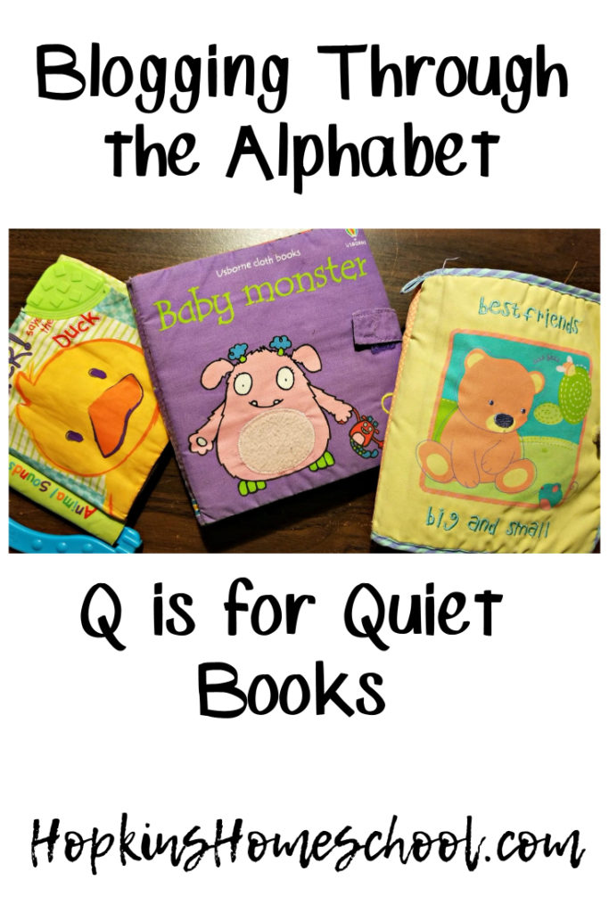 Quiet Books – Blogging Through the Alphabet