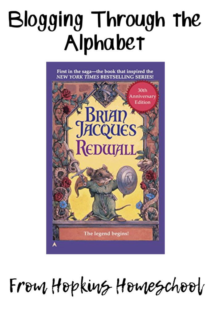 R is for Redwall – Blogging Through the Alphabet